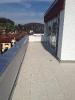Terrasse auf Splitt